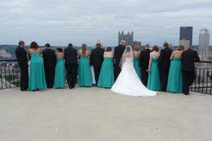 Erin's wedding...overlooking Mt. Washington.