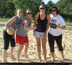 The Sandwitches in our glory. Probably lost that game....