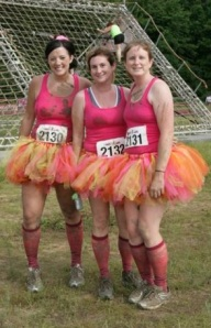 The Dirty Girl Mud Run with my cousins, Jen and Laura. It was amazing to get covered in mud with my family.