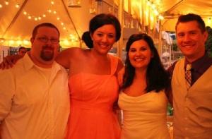 Diddle, Myself, Melissa, Jason. Love you guys.