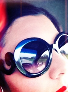 Jackie is the influencing factor when it comes to my sunglasses.