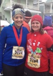 Christmas Story Run: I literally was frozen for two days after.
