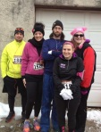 Home Run for the Homeless 4 miler…an awesome way to kick off Thanksgiving.