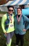 Buckeye 1/2 Marathon two man relay: Team Awesome was Awesome!