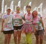 Color Me Rad: the first 5k I ever got to do with my mother and aunt!