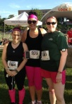 Andrea Rose 5k. They had Rita's Frozen Ice at the finish…winning!
