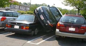 If all else fails, I could always park like this.