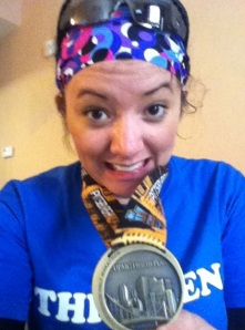 The medal that started it all: Pittsburgh Half 2011