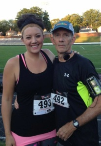 This man is why I run! So proud of the fact that I get to run with him…..even if I lose.