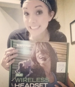My new wireless headset!