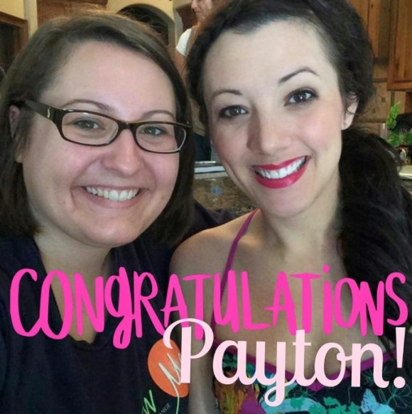 P.S. Payton hit an amazing milestone in her business today, so congratulate her!