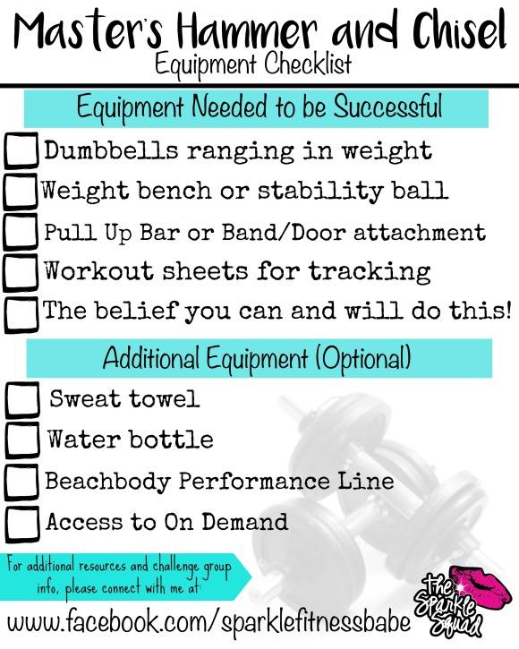 EquipmentChecklist